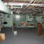 Lots of storage in the basement